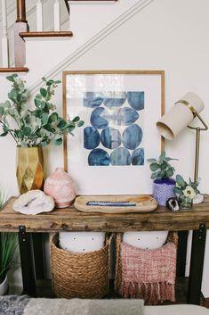 Spring Refresh: Living Room - Styled By Herr
