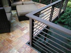 Horizontal metal fence design idea 27 - Home Decor Interior - Horizontal metal fence design idea 27 – Home Decor Interior - Balcony Grill Design, Modern Railing, Patio Railing, Balcony Railing Design, Metal Railings, Patio Roof, Railing Ideas, Outdoor Railings, Cable Railing