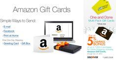 Amazon.com Gift Cards Kindle