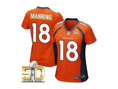 youth Denver Broncos 18 Peyton Manning blue jerseys