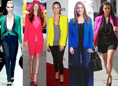 Spring Fashion: Bold-Colored Blazers
