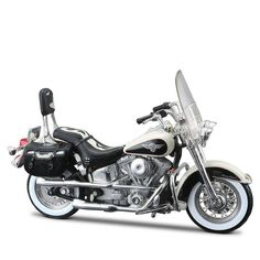 2730d855a1 Miniatura Moto Harley-Davidson 1993 FLSTN Heritage Softail Maisto 1 18 - Machine  Cult