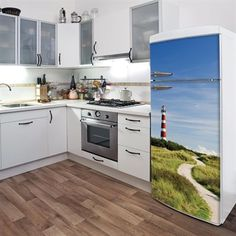 ADzif D0104AJV5 Domo Lighthouse Fridge Decal