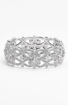 Nadri+'Celtic+Knot'+Crystal+Bangle+available+at+#Nordstrom