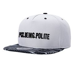 3ae796919d068 Amazon.com  Unisex Mens Letter Embroidery Fitted Flat Bill Hats Cool  Snapback Hip Hop Cap