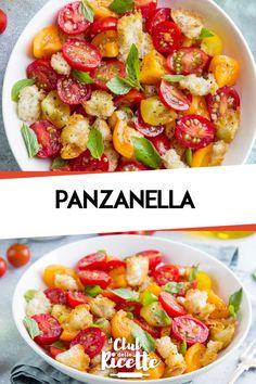 Panzanella - Jess K. Cooking Recipes, Healthy Recipes, Weird Food, Happy Foods, Daily Meals, Toscana, Antipasto, Light Recipes, Food Menu
