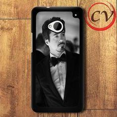 Actor Robert Downey Jr HTC One M7 Black Case