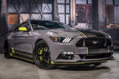 8 Best SEMA 2016: 2017 Mustang EcoBoost Build images