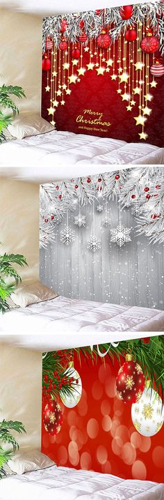 2020 Christmas Wall Tapestry Best Online For Sale Cheap Christmas, Christmas Door, Christmas 2017, Christmas Photos, All Things Christmas, Christmas Holidays, Xmax, Holiday Crafts, Holiday Decor