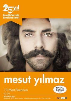 Mesut Yılmaz, Hayal Kahvesi Beyoğlu'na Veda Konserleri'nde Sahne Alıyor | Sanat Duvarı