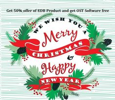 Enstella Systems provide best offer up to 50% on EDB to PST Software and get OST Software free with EDB Software