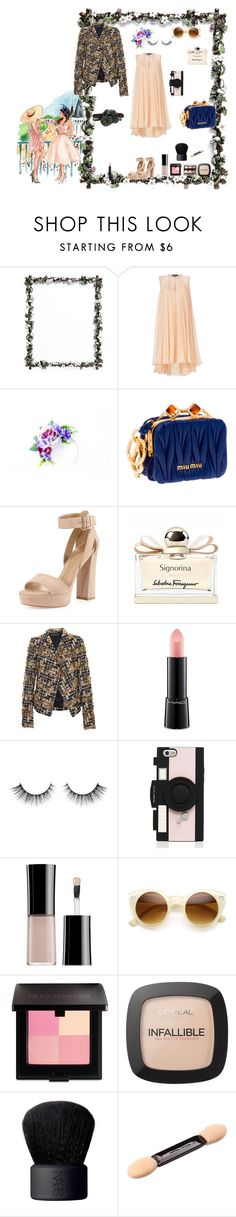 """""""Explore"""" by favos ❤ liked on Polyvore featuring Lane Crawford, Salvatore Ferragamo, Miu Miu, Stuart Weitzman, Haider Ackermann, Nude by Nature, MAC Cosmetics, Kate Spade, Armani Beauty and ZeroUV"""