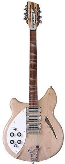 Une Rickenbacker 370 Mapleglo. Retrouvez des cours de guitare d'un nouveau genre sur MyMusicTeacher.fr