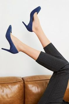The court shoe is still our favourite style of footwear, immediately making your outfit all kinds of CHIC. With a square toe and blue colour, these are the perfect way to inject a little extra colour to your spring/summer wardrobe.