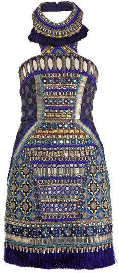 Bhangra Beaded Dress -Matthew Williamson
