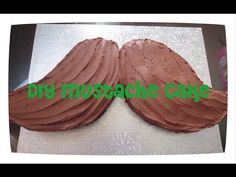Tutorial   How to Make a Quick and Easy Chocolate Buttercream Mustache C...
