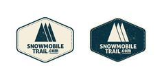 Davidson Creative designed this logo that is used for a website that helps you find snowmobile trails in your area!