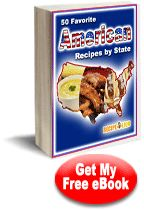 "Get a taste of all 50 states with this free eCookbook. Download your copy of ""50 Favorite American Recipes by State"" right here!"