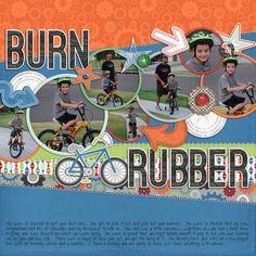Burn Rubber - Scrapbook.com