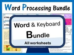 This bundle is a huge value for money if you want to teach your students the basics of Microsoft Word as well as keyboard skills. This bundle comes with the following resources/activities: 1. Word Processing Files which students alter based on given instructions: •Gordon the Cat •Letter Task Shapes Worksheets, Teacher Worksheets, Printable Worksheets, Father's Day Words, Unscramble Words, Teaching Science, Teaching Resources, Family Tree Worksheet, Word Skills