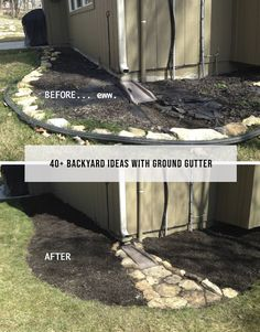 Your backyard landscaping is going to have to be about many different things but the most important one of these if your well being. Most people get into backyard landscaping because they want to change the look and feel of their home Garden Yard Ideas, Backyard Projects, Outdoor Projects, Lawn And Garden, Garden Projects, Backyard Ideas, Backyard Designs, Garden Beds, Landscape Drainage