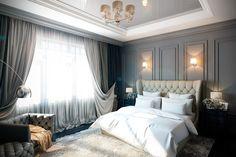 Дизайн спальни 18 кв.м. - Дизайн интерьеров | Идеи вашего дома | Lodgers