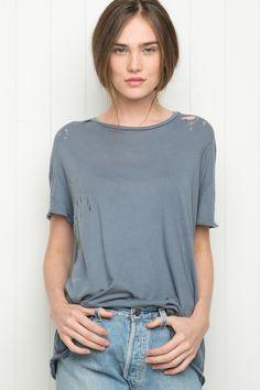 Brandy ♥ Melville | Violet Top - Tops - Clothing