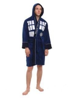 Doctor Who TARDIS Terry Bathrobe Doctor Who Tardis 0aeab653e