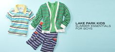 Lake Park Kids: Summer Essentials for Boys - http://tieasy.net/lake-park-kids-summer-essentials-for-boys/