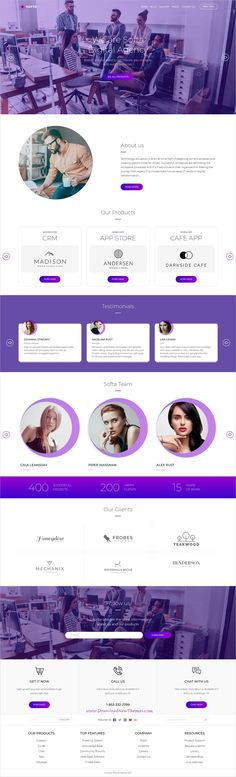 Softa is clean and modern design 5in1 responsive WordPress theme for digital #agency, SaaS, app, Software and WebApp landing page website to live preview & download click on Visit  #websitedesign