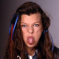 Milla-Jovovich-Age-12