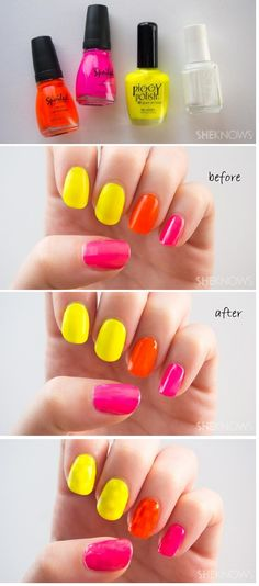 Top 10 Amazing Manicure Hacks