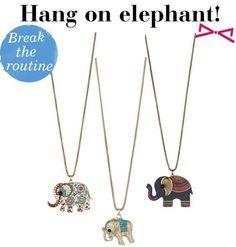 Routine, Elephant, Accessories Shop, Shopping, Jewelry, Collection, Fashion, Moda, Jewlery