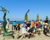 """""""Look what they did to the Malecon"""" Great article about the new Puerto Vallarta Malecon"""
