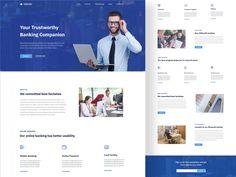 Bank Landing page exploration by sourav barua Ux Design, Branding Design, North Vancouver, Job Opening, Say Hello, Landing, Explore, Corporate Design, Identity Branding
