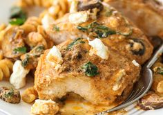 One-Pan Chicken with Creamy Sun-Dried Tomato Pesto Sauceimage