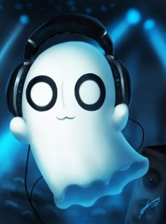 Napstablook - Undertale by ichimoral on DeviantArt
