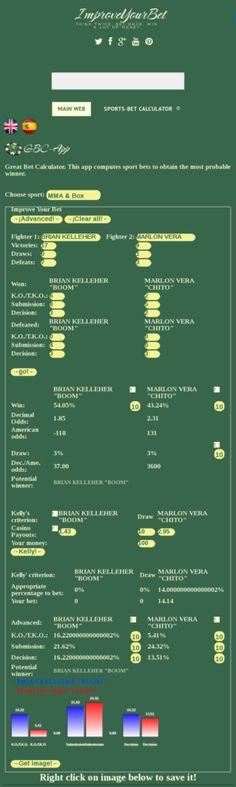 UFC on fox 25 forecast prediction and picks BRIAN KELLEHER BOOM Vs MARLON VERA CHITO