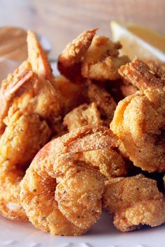 Creole Fried Shrimp #seafood FoodBlogs.com