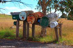 rural letter boxes