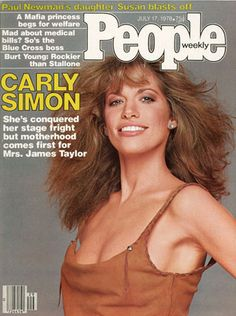 People Magazine cover - Carly Simon 1978