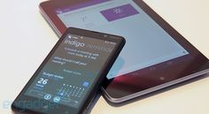 Indigo personal assistant for Android and Windows 8