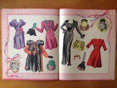 Original Uncut 1943 Betty Grable Paper Dolls | eBay