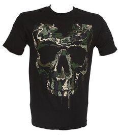 Design Shirts Men's Special Ops Camo Skull T-Shirt Great T Shirts, Boys T Shirts, Tee Shirts, Dark S, Special Ops, Camo Patterns, Skull Design, Branded T Shirts, Alternative Fashion
