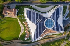 in lausanne, switzerland, danish architecture firm has completed 'olympic house' — the new headquarters of the international olympic committee (IOC). Zhuhai, Architecture Awards, Light Architecture, Futuristic Architecture, Lausanne, Facade Engineering, Active Design, Architectural Lighting Design, Ferry