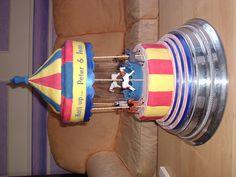 3 Tier Carousel Wedding Cake