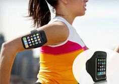$12 for an iPhone or iPod Armband.  I've seen a bunch of runners wearing these.  Wonder how this will fit the *new* iPhone?   #Tippr
