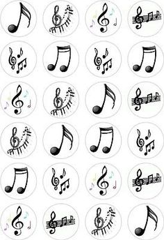 Details about 24 Music Notes Cupcake Fairy Cake Toppers Edible Rice Wafer Paper . Details about 24 Music Notes Cupcake Fairy Cake Toppers Edible Rice Wafer Paper Decorations 24 Mus Music Notes Decorations, Paper Decorations, Cupcake Decorations, Music Tattoo Designs, Music Tattoos, Music Note Cake, Music Cakes, Music Themed Cakes, Themed Cupcakes