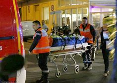 Carnage: Bouhlel's attack left a trail of devastation, killing at least 84 people including 10 children, on the Promenade des Anglais before he was shot dead by anti-terror police in France
