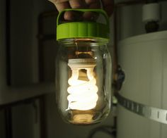 DIY Portable Mason Jar Battery Operated Lantern for When the Power Goes Out
